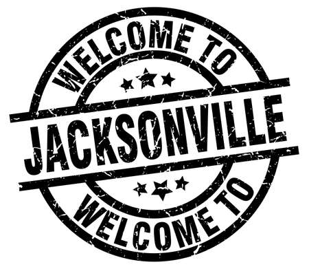 jacksonville: welcome to Jacksonville black stamp