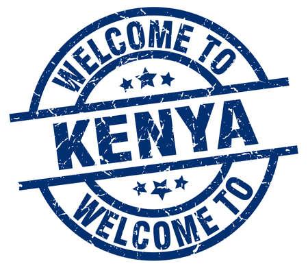kenya: welcome to Kenya blue stamp