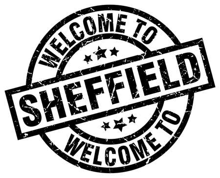 welcome to Sheffield black stamp