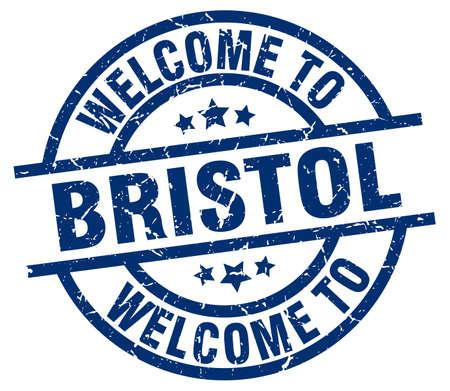 bristol: welcome to Bristol blue stamp