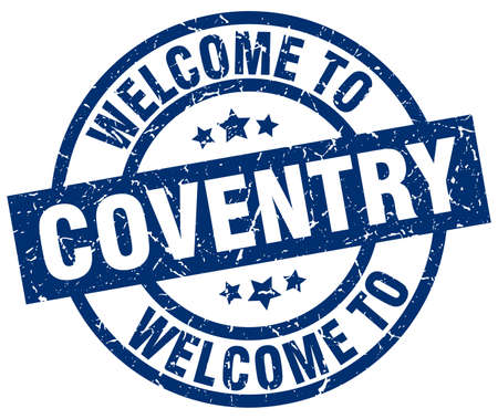 welcome to Coventry blue stamp