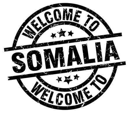welcome to Somalia black stamp