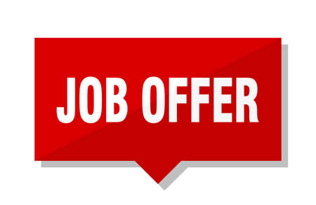 job offer red square price tag