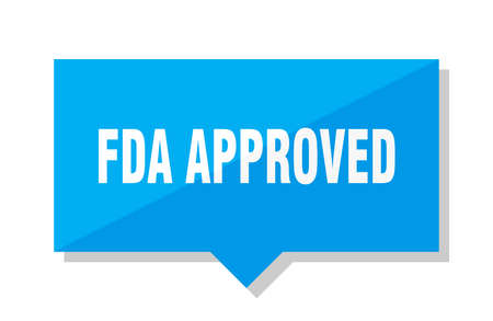 fda approved blue square price tag