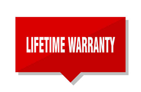 lifetime warranty red square price tag
