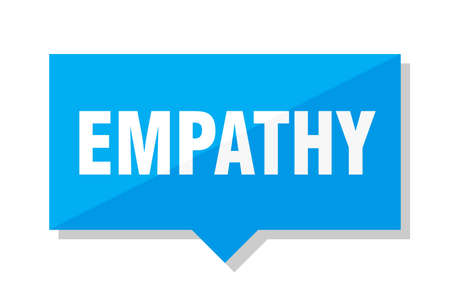 empathy blue square price tag