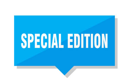 special edition blue square price tag