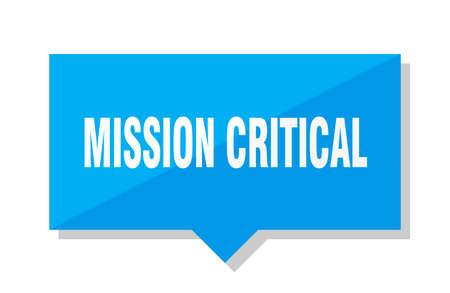 mission critical blue square price tag 版權商用圖片 - 101880407