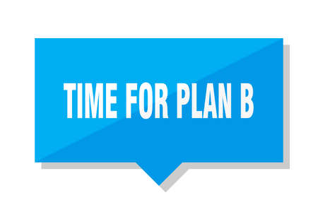 time for plan b blue square price tag
