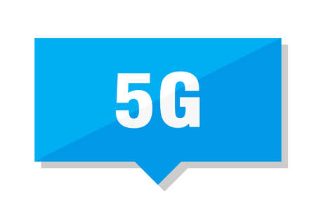 5g blue square price tag