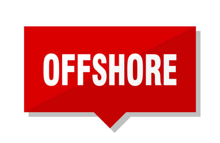 offshore red square price tag