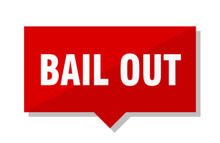 bail out red square price tag