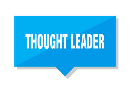 thought leader blue square price tag