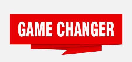 Game changer sign. Ilustrace
