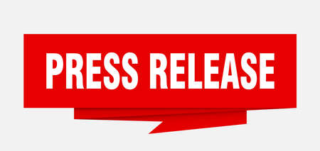 press release sign. press release paper origami speech bubble. press release tag. press release banner 版權商用圖片 - 111873408