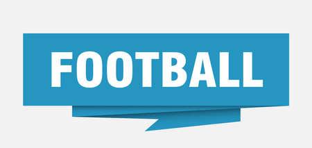 Football sign.