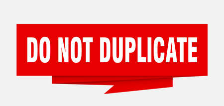 do not duplicate sign. do not duplicate paper origami speech bubble. do not duplicate tag. do not duplicate banner