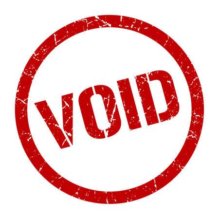 void red round stamp