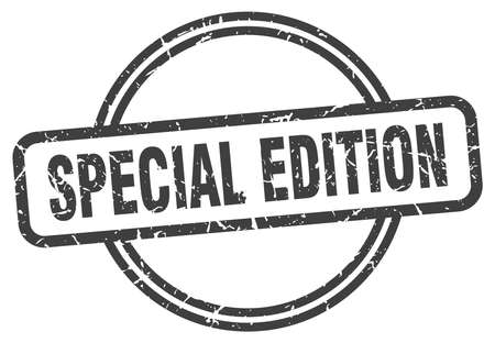 special edition vintage stamp. special edition sign