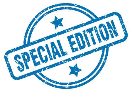 special edition round vintage grunge stamp