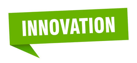 innovation speech bubble. innovation sign. innovation banner