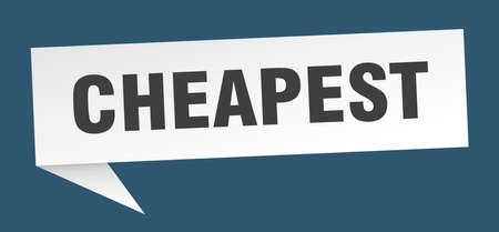 cheapest speech bubble. cheapest sign. cheapest banner