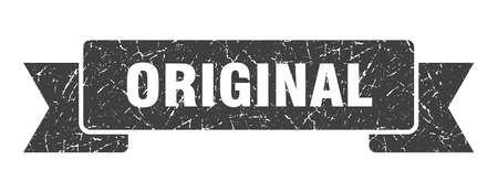 nastro originale del grunge. segno originale. striscione originale