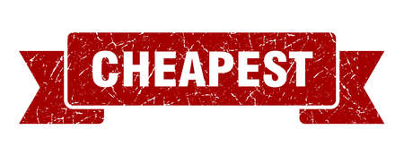 cheapest grunge ribbon. cheapest sign. cheapest banner