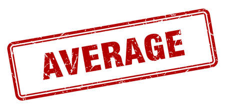 average stamp. average square grunge sign. average 일러스트