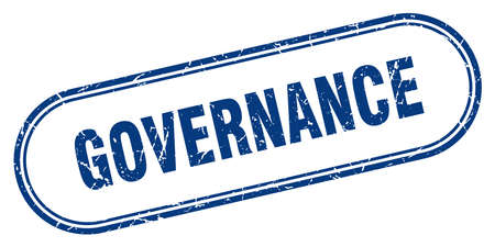 governance stamp. governance square grunge sign. governance Stok Fotoğraf - 126046897