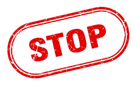 stop stamp. stop square grunge sign. stop Illustration