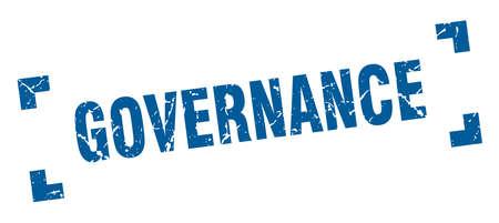 governance stamp. governance square grunge sign. governance Stok Fotoğraf - 126079162