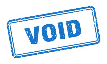 timbre nul. signe grunge carré vide. annuler
