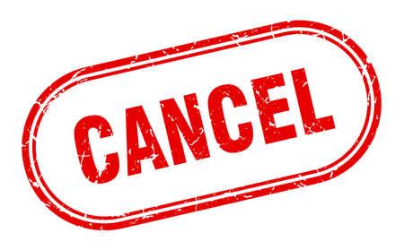 cancel stamp. cancel square grunge sign. cancel