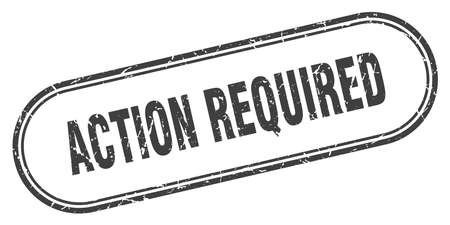 action required stamp. action required square grunge sign. action required Фото со стока - 126512090