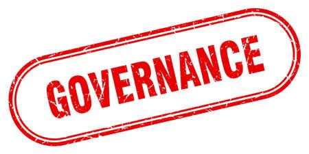 governance stamp. governance square grunge sign. governance Çizim