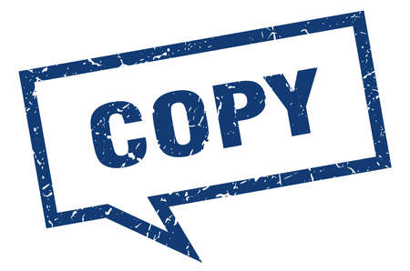 copy sign. copy square speech bubble. copy