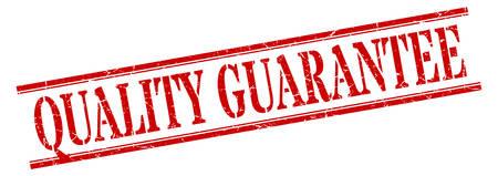 quality guarantee stamp. quality guarantee square grunge sign. quality guarantee