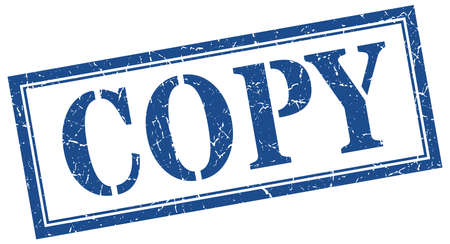 copy stamp. copy square grunge sign. copy 向量圖像