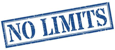 no limits stamp. no limits square grunge sign. no limits Stock fotó - 129519707