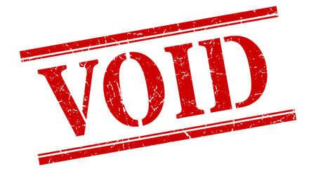 void stamp. void square grunge sign. void Ilustrace
