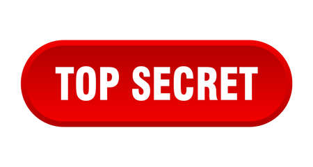 top secret button. top secret rounded red sign. top secret 일러스트