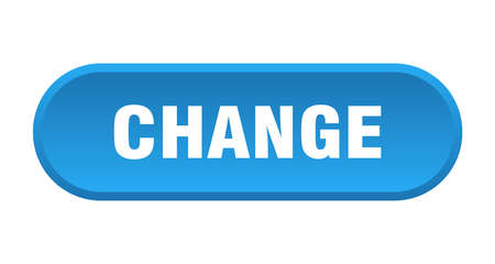 change button. change rounded blue sign. change Иллюстрация