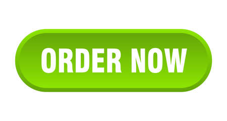 order now button. order now rounded green sign. order now