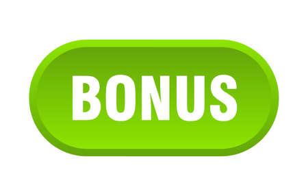 bonus button. bonus rounded green sign. bonus Stok Fotoğraf - 129808831