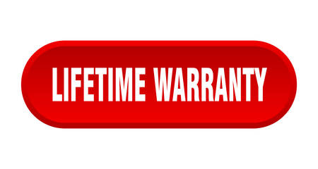 lifetime warranty button. lifetime warranty rounded red sign. lifetime warranty Illustration