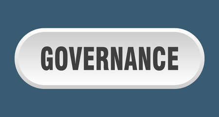 governance button. governance rounded white sign. governance Çizim