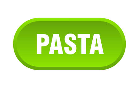 pasta button. pasta rounded green sign. pasta Çizim
