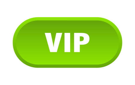 vip button. vip rounded green sign. vip  イラスト・ベクター素材