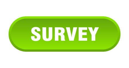 survey button. survey rounded green sign. survey  イラスト・ベクター素材